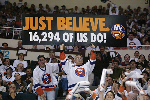New York Islander fans have expressed their opinions and their loyalties on their blogs, which are endorsed by the team.