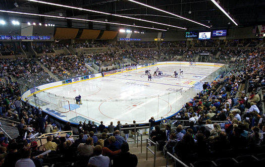 The new Urban Plains Center is not only home to the Fargo Force of the United States Hockey League, it will also host the 2009 IIHF World Under-18 Championship.