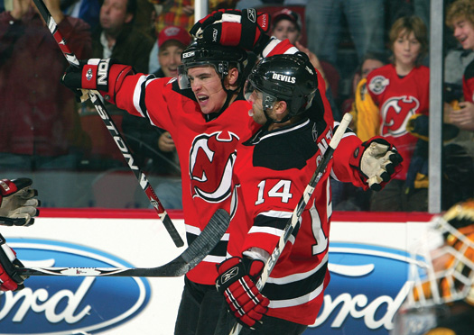 Zach Parise (5-foot-11) and Brian Gionta (5-foot-7) are two big reasons why the New Jersey Devils are among the top teams in the NHL.