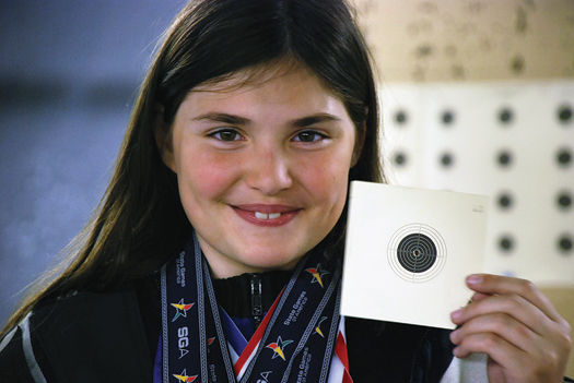 Danielle Makucevich is the youngest person ever to win Rhode Island&amp;rsquo;s junior championship, outscoring competitors up to 20 years old.