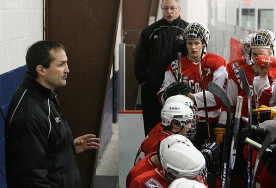 Wisconsin coach Gary Shuchuk.