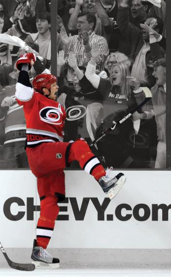 Goal celebrations by Eric Staal of the Carolina Hurricanes, or the Washington Capitals&amp;rsquo; Alex Ovechkin, can really fire up the home crowd, but can also set opposing players fuming.