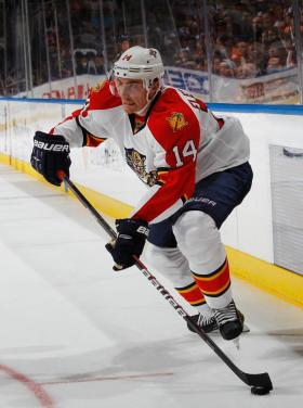 Buy: Tomas Fleischmann, knocked out 22 games into the 2010-2011 season by a pulmonary embolism, now looking to do some great things with the Panthers.