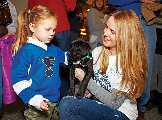 Kelly Backes grew up with animals and feels it's her calling to help unite homeless pets with loving families.