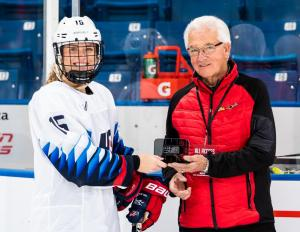 Sydney Brodt's late game-winning goal against Canada led to her being named U.S. Player of the Game.
