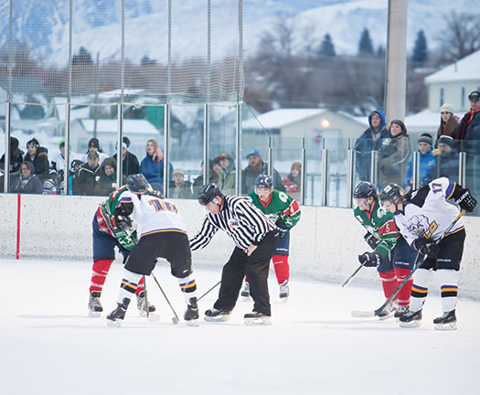 For local fans and members of the NA3HL's Gillette Wild and Yellowstone Quake there was no better way to ring in the New Year than at the Wyoming Winter Classic in Sheridan, Wyo.