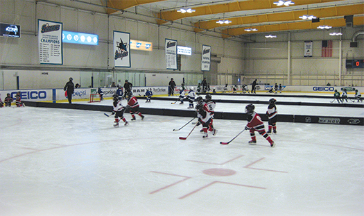 Sharks Ice in San Jose, Calif., credits the ADM for getting more kids on the ice and in on the fun.