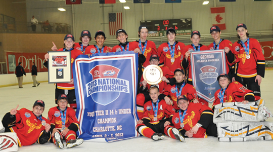 Strong showings by the Atlanta Fire and Atlanta Phoenix at USA Hockey National Championships show the talent being produced in Georgia.