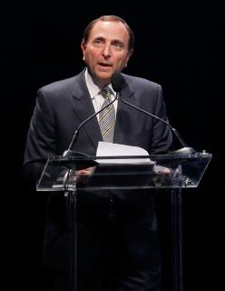 NHL Commissioner Gary Bettman, whose son plays at the Ice House, will be in attendance on March 31.