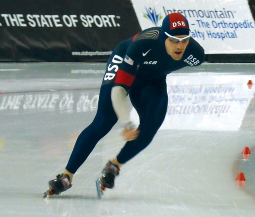 After a successful career as an inline skater, Chad Hedrick made the jump to the ice and became the first American male since Eric Heiden to win three medals in a single Olympic Winter Games.