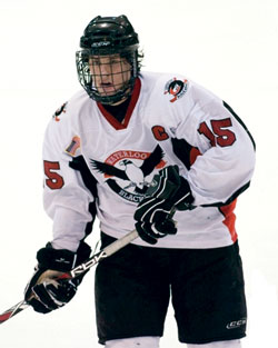 Craig Smith made the transition from the Waterloo Black Hawks to the University of Wisconsin.