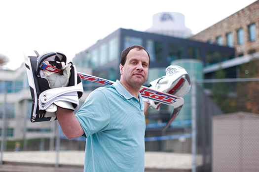 David Littman has taken his extensive experience as a top-flight goaltender to the world of video game production with EA Sports.