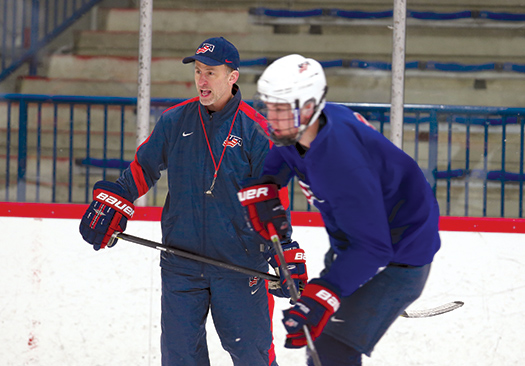 Now in his fourth year with the National Team Development Program, Don Granato is a key cog in the USA Hockey player development system that has helped hundreds of American-born players advance their careers to U.S. colleges and the NHL.