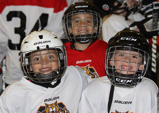 Success in the Wildcats Youth Hockey Club can be measured by the smiles on the faces of the players and parents who are seeing the benefits of the ADM.