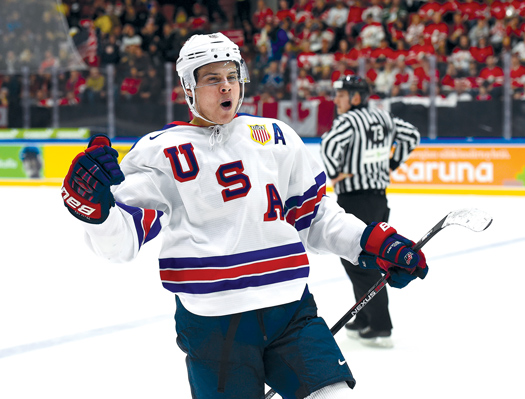 Auston Matthews lived up to the pre-World Juniors hype with a U.S.-leading 11 points in seven games.