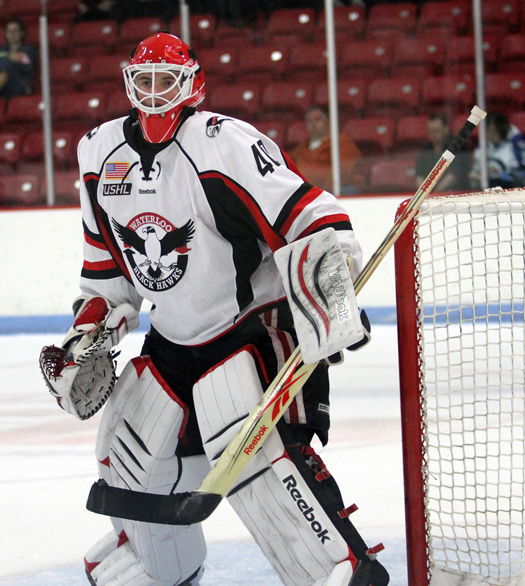 Cal Peterson, Waterloo Blackhawks