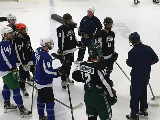 In addition to some intense competition, players attending a USA Hockey Player Development learn from some of the top coaches in the country.