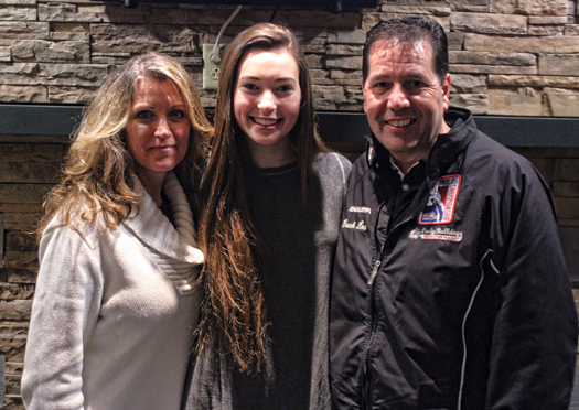 Brianna's parents, Mary and Louis, have been supportive of their daughter whether she's pursuing her dreams on the ice rink or the runway.