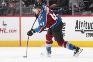 Toninato appeared in 37 games last season for the Avalanche but is still searching for his first NHL goal.