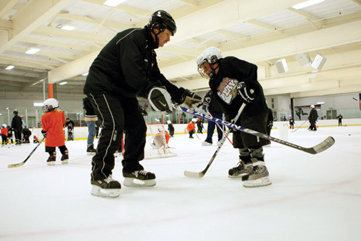 Events at NHL rinks help get more kids to try the game and create new fans for local teams.