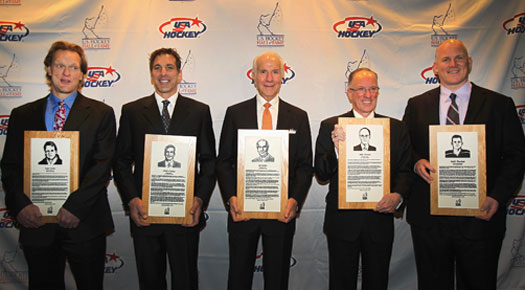 The U.S. Hockey Hall of Fame Class of 2011 included Gary Suter, Chris Chelios, Ed Snider, Mike &amp;ldquo;Doc&amp;rdquo; Emrick and Keith Tkachuk.