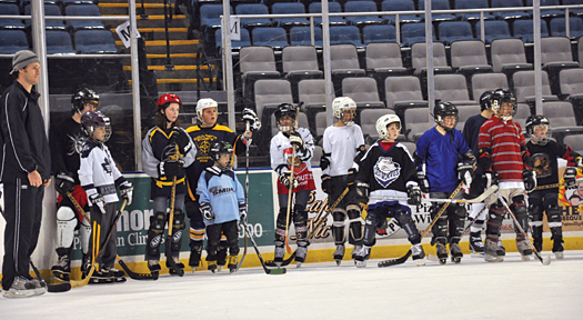 The Kids First program kicked off with a &amp;ldquo;Try Hockey For Free&amp;rdquo; day, providing equipment and instruction for kids new to the sport.