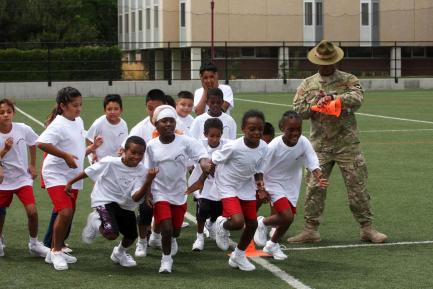 """Boot Camp"" got the kids working extra hard"