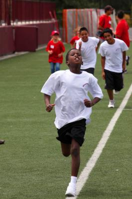 """Aden Noor gives his all during """"boot camp"""" training"""