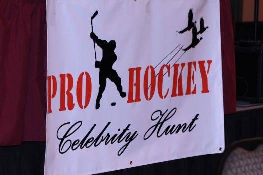 This was the 1st Annual Pro Hockey Celebrity Hunt, with plans to do it again next year