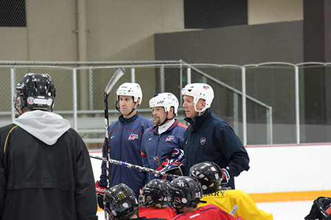USA Hockey's ADM regional manager staff has since grown to 10 names, with Joe Bonnett, Rich Hansen, Dan Jablonic and Emily West rounding out the names listed in the article.