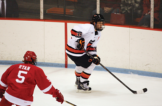 Princeton University has followed the lead of the National Team Development Program and has incorporated The Hockey Intelligym into its training regimen.