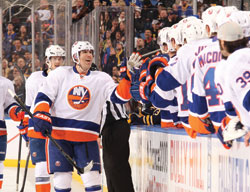 Brian Rolston's veteran leadership in the locker room is matched by his on-ice contributions this season with the N.Y. Islanders.