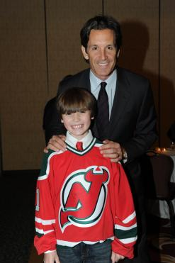 Brendan Shanahan was just one of many former NHL stars present in Hackensack
