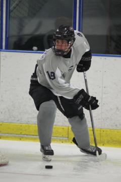 Mackie, 15, got his first taste of international competition with USA Hockey in the recent Five Nations Tournament.