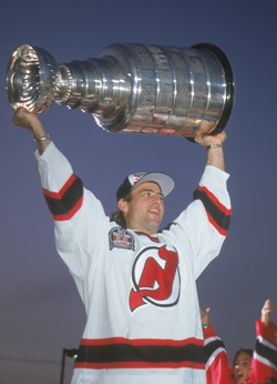Neil Broten hoisted the Stanley Cup in 1995 with the New  Jersey Devils.