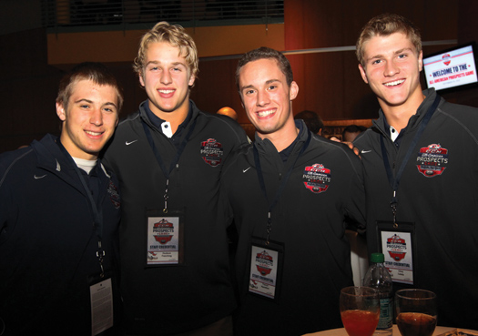Everyone involved with the CCM/USA Hockey All-American Prospects Game enjoyed their stay in Buffalo. The inaugural event was a huge success for players, coaches and fans alike.