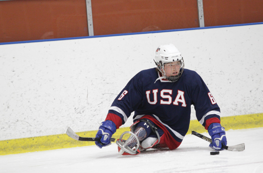 With four goals and four assists at the IPC World Championships, Declan Farmer was among the leading scorers for the U.S.