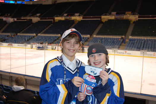Team Suffolk shows off Flat Stanley Cup.: Photo submitted by New York Islanders
