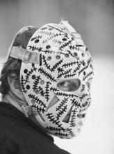 Gary Cheevers' goalie mask