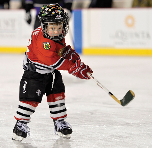 It seems like everyone has caught hockey fever thanks to the Chicago Blackhawks fast start.