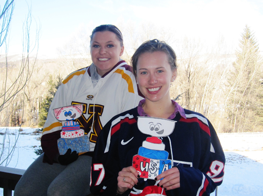 All smiles with Flat Stanley Cup and Vail, Colo.: Photo submitted by Jenna Sitte
