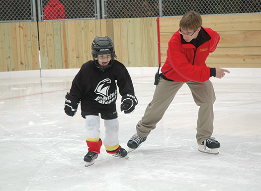 From Learn to Skate programs to 3-on-3 adult tournaments, there is something for everyone at Whitey's Pond.