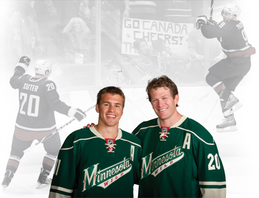 Over the years, Ryan Suter and Zach Parise have teamed up on international ice. After their blockbuster free agent signing, the young Americans will look to re-energize the Minnesota Wild.