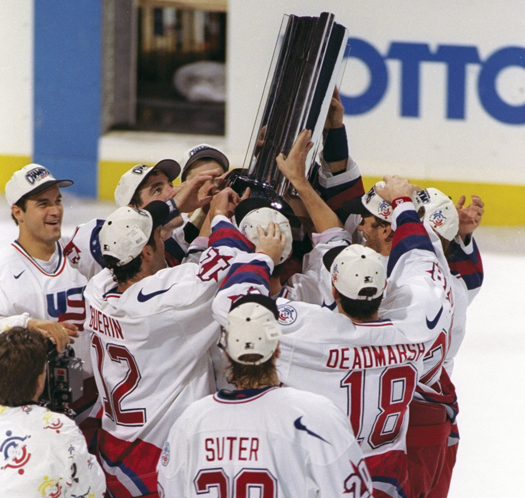 Members of the U.S. team that stunned Canada to win the 1996 World Cup of Hockey secured their place among the game's elite and inspired the next generation of American players.
