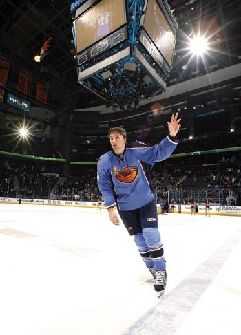 Players such as Blake Wheeler proved to be great ambassadors for the game by making numerous appearances in the Atlanta area to promote the growth of the game.
