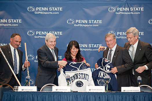 A generous donation from Terry and Kim Pegula to Penn State University helped pave the way for the creation of a new Big 10 hockey conference.