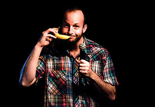 Budding comedian Gabe Kea is building a name for himself on the Midwest comedy club circuit.