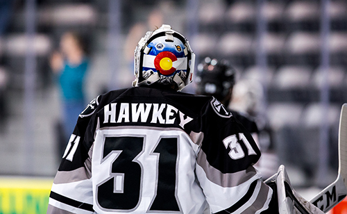 A native of Parker, Colo., Hawkey played his youth hockey with the Colorado Thunderbirds organization.