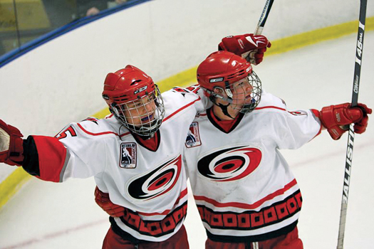 The Ice Vault in Wayne, N.J., played host to the USA Hockey 14 & Under Tier II tournament, where the action was fast and furious.