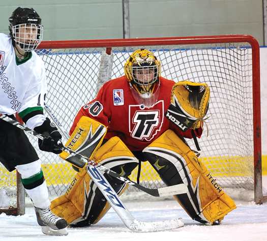 The expansion of USA Hockey's Tier II division provided more opportunities for teams such as the South Florida Golden Wolves, left, and Team Toledo, above, to compete for a National Championship.
